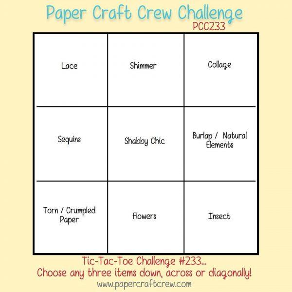 Paper Craft Crew Tic-Tac-Toe Challenge 233