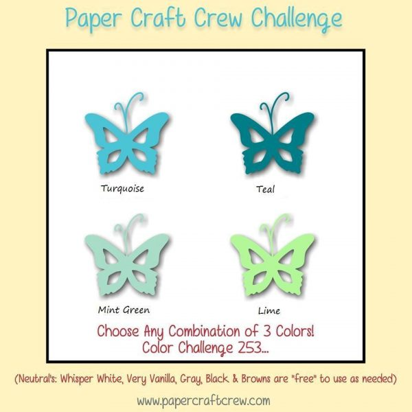 Paper Craft Crew Color Challenge 253