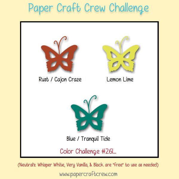 Color Challenge for Paper Craft Crew 261