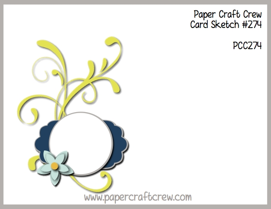 Play along with the Paper Craft Crew for Sketch Challenge 274. The challenge starts January 3, 2018 and ends January 9, 2018 at 1 PM EST. Visit the blog at www.papercraftcrew.com to check out the design team samples and to submit your project. #papercraftcrew #papercrafting #sketchchallenge #color #playalong #imakecards #cardmaker #diy #sendacard #craft #stampinup #cardchallenge #papercraft #bigshot #rainydayfun #designteam #becreative #artsandcrafts #hobby #snailmail #createeveryday #crafttherapy #creativelifehappylife #pcc2018
