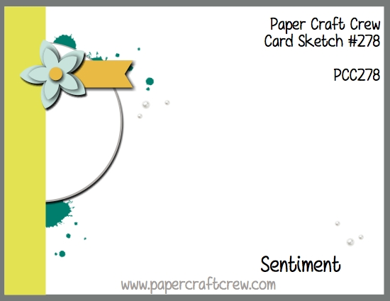 Play along with the Paper Craft Crew for Sketch Challenge 278. The challenge starts January 31, 2018 and ends February 6, 2018 at 1 PM EST.   Visit the blog at www.papercraftcrew.com to check out the design team samples and to submit your project.  #papercraftcrew #papercrafting #sketchchallenge #color #playalong #imakecards #cardmaker #diy #sendacard #craft #stampinup #cardchallenge #papercraft #bigshot #rainydayfun  #designteam #becreative #artsandcrafts #hobby #snailmail #createeveryday #crafttherapy #creativelifehappylife #pcc2018